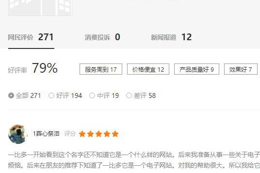 盘点上海谷歌代理商的百度评价