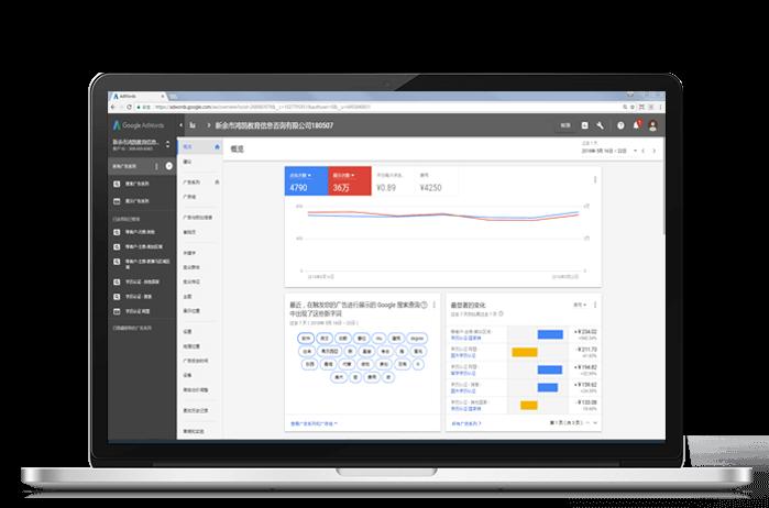 Google AdWords账户如何自定义图表快速分析数据