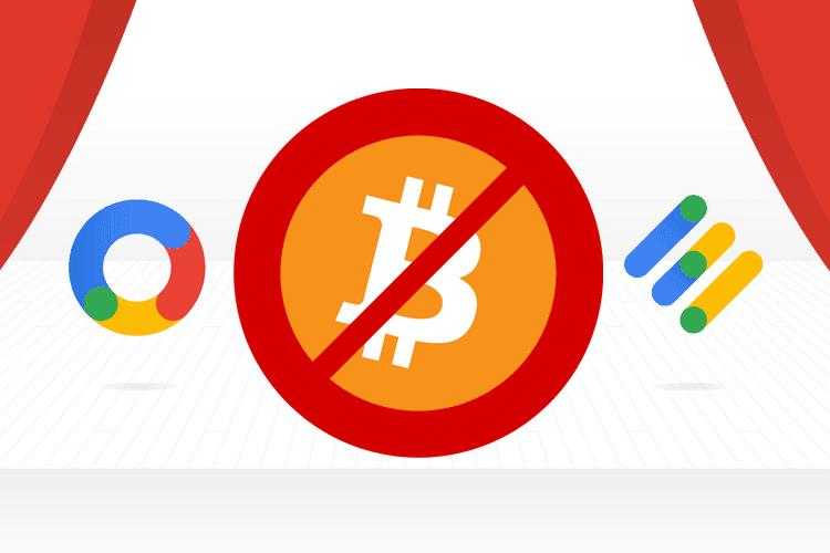 Google AdWords没有解除封杀加密货币广告政策